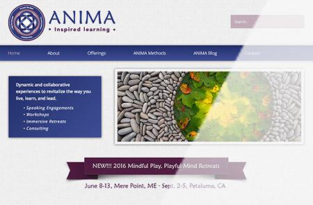 Anima Learning Homepage