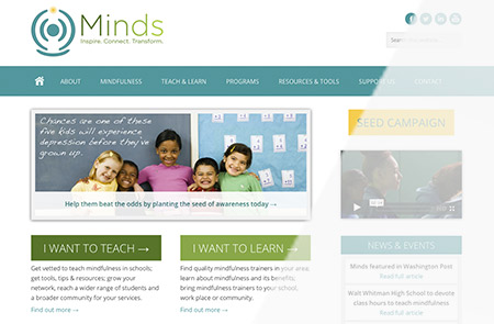Minds Homepage