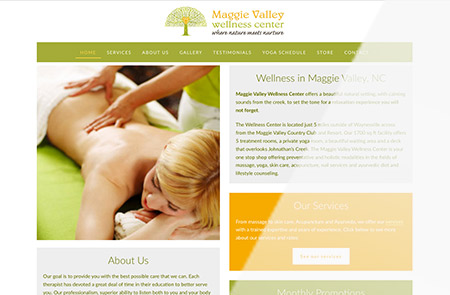 Maggie Valley Welleness Homepage