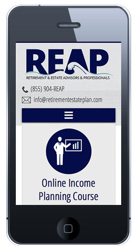 REAP Homepage Mobile