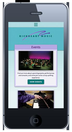 RHM Homepage Mobile