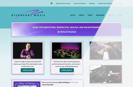 Richheart Music Homepage