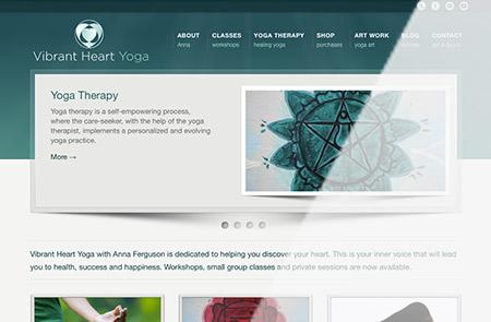 Vibrant Heart Homepage