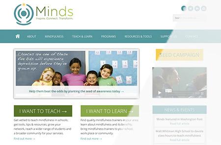 Minds Homepage