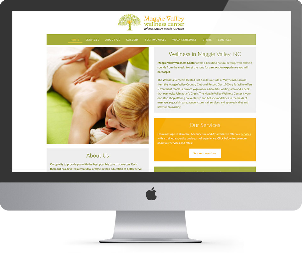 Maggie Valley Wellness Homepage