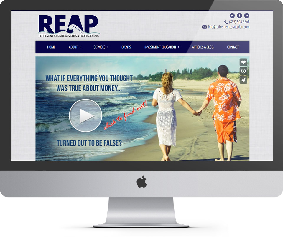 REAP Homepage