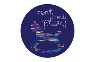 Rent and Play Logo